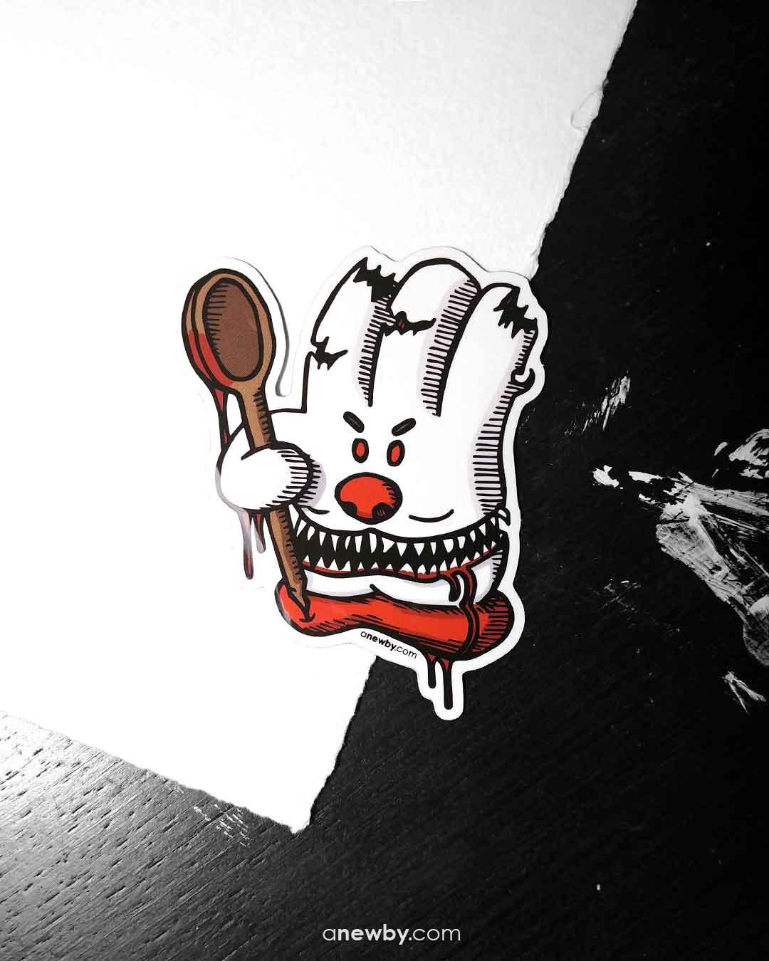 Evil Helper Sticker
