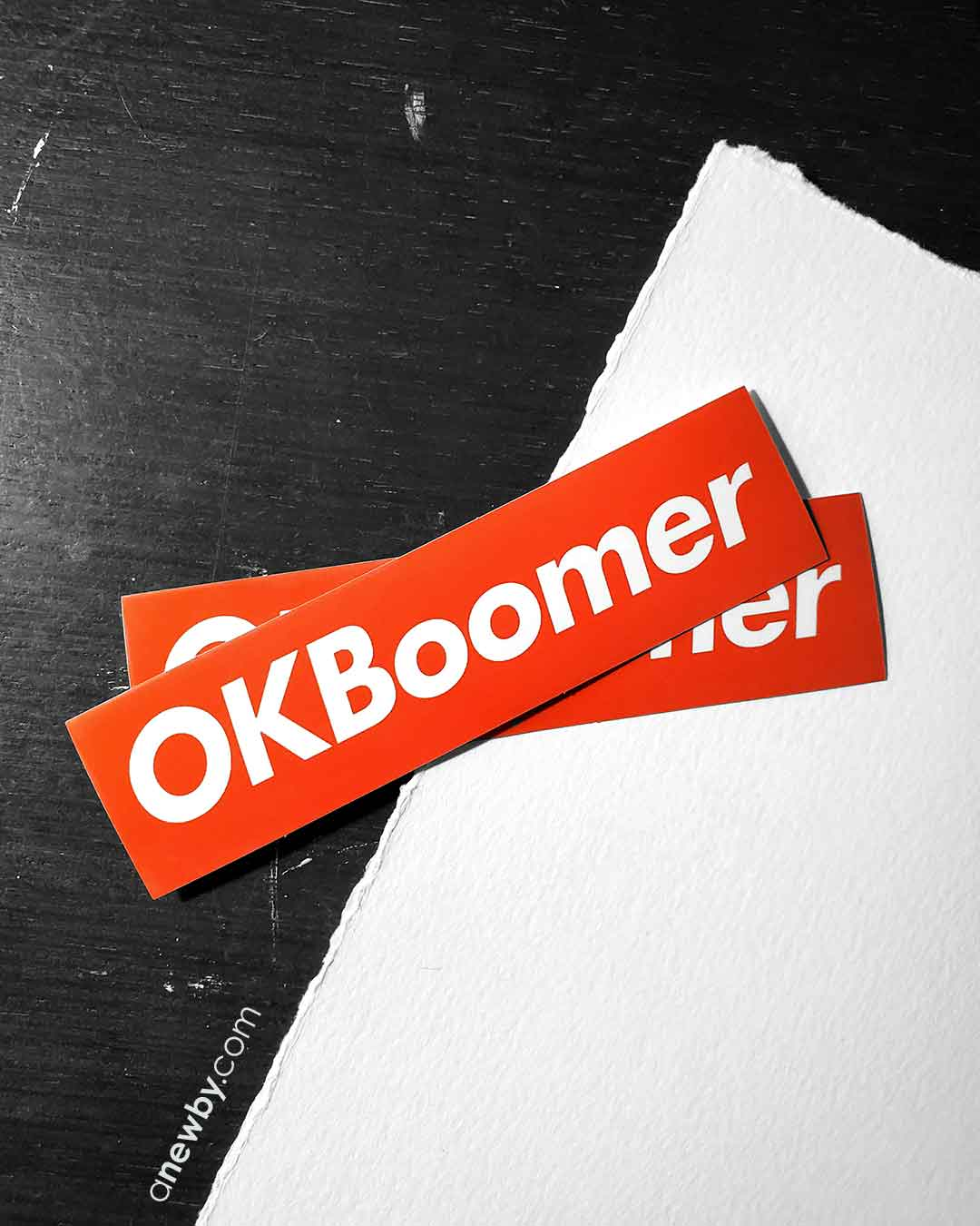 #OKBoomer Sticker