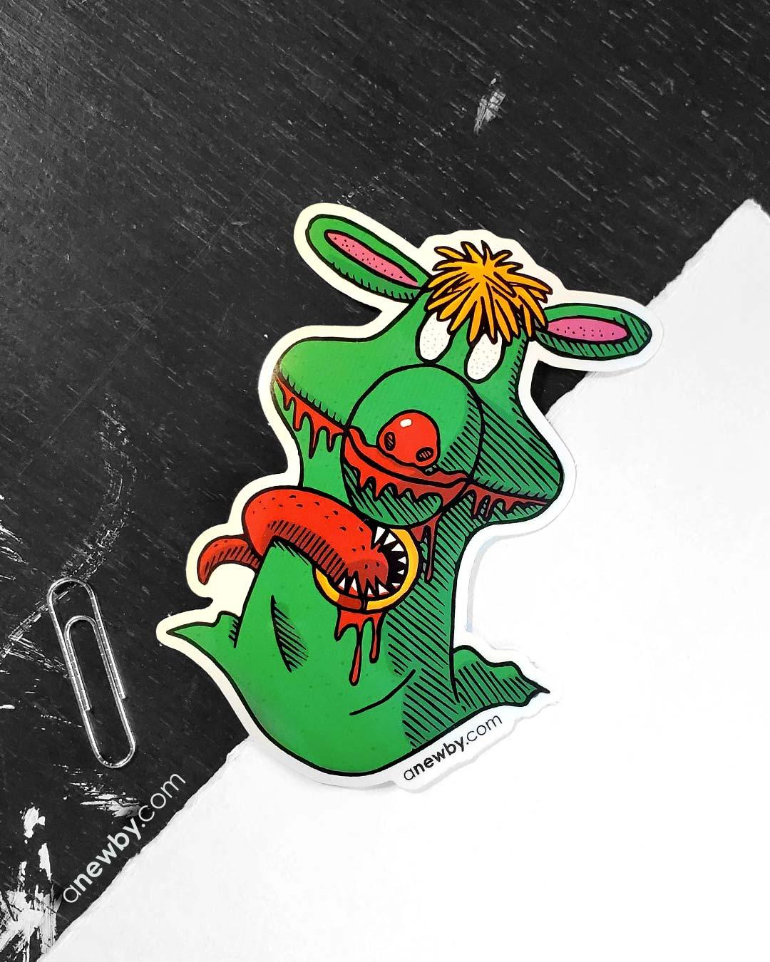 Parasite Sticker by Newby